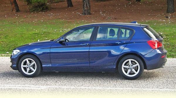 BMW 116d Test