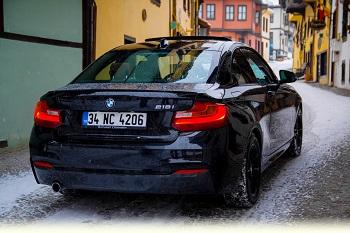 BMW 218i Test