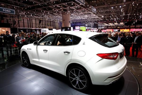 Maserati Levante Test