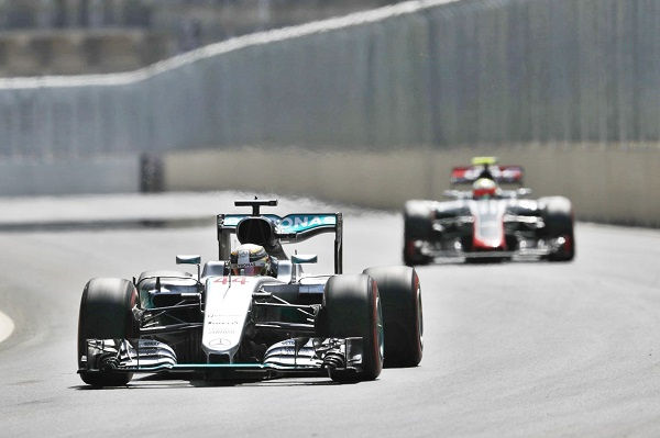 2016 European Grand Prix, Mercedes-Benz Formula One Baku City Circuit  Azerbaijan