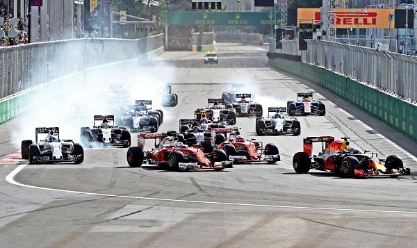 FIA Formula One World Championship Baku Azerbaijan European F1 Grand Prix
