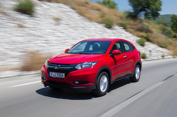 Honda HR-V Test