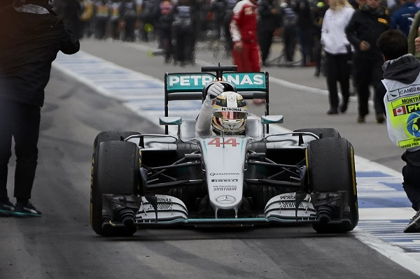2016 Canadian Grand Prix, Sunday Mercedes-Benz Motorsport Lewis Hamilton 2016 Formula One World Championship