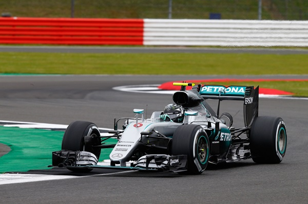 2016 British Grand Prix Mercedes benz