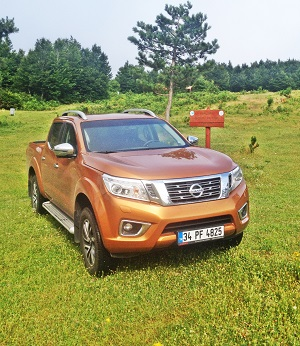 Nissan Navara Test