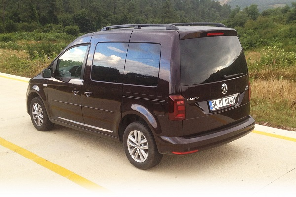 Volkswagen Caddy TDI SCR BMT 102 PS Exclusive DSG