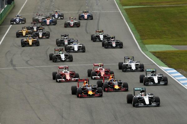 Mercedes Benz AMG German Grand Prix Otomobiltutkunu Formula 1