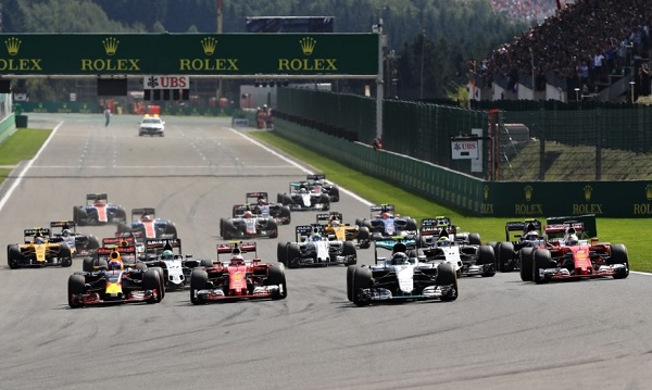 FIA Formula One World Championship Belgium - Spa RedBull