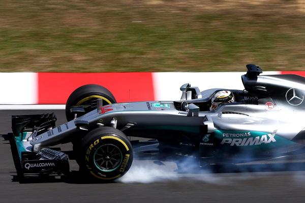 2016 Malaysian Grand Prix Mercedes AMG F1