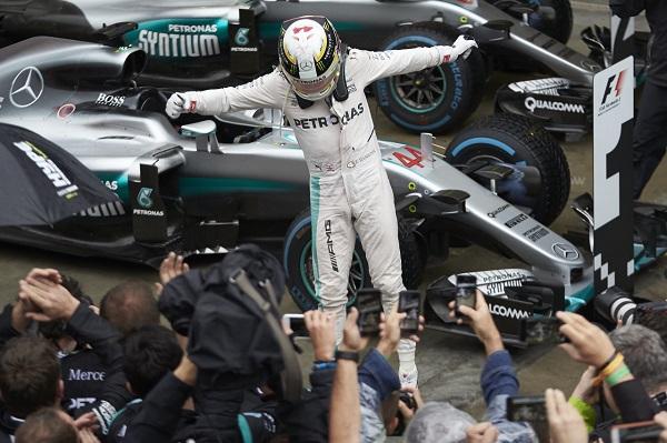 Lewis Hamilton Mercedes AMG F1