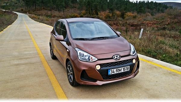Hyundai Yeni i10 Test