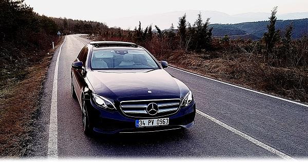 Mercedes Benz E220d Test_Yeni E Serisi_Otonom_Avangarde Test