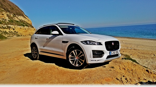 Jaguar F-Pace Test