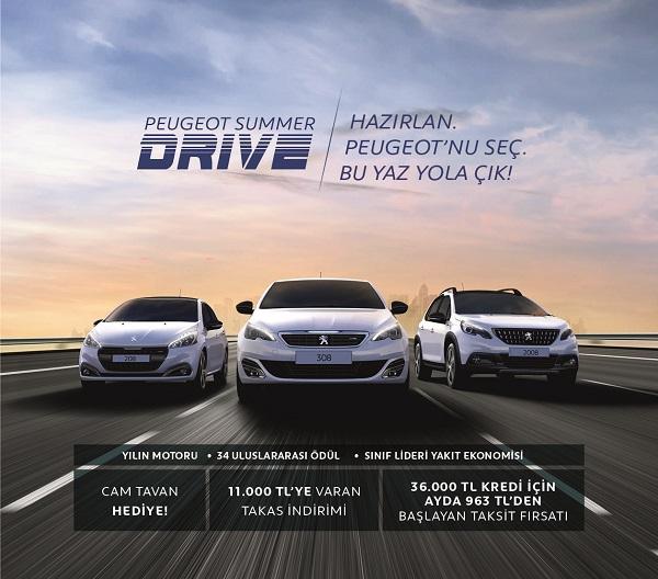 Peugeot Summer Drive_Otomobiltutkunu