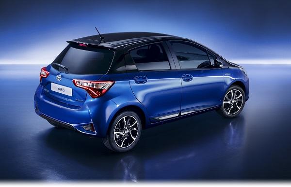 Toyota Yaris Hybrid Autoshow 2017
