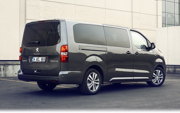 Yeni Peugeot Expert Traveller_Minibus_ViP