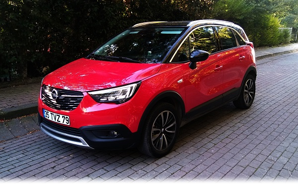 Opel Crossland X Test