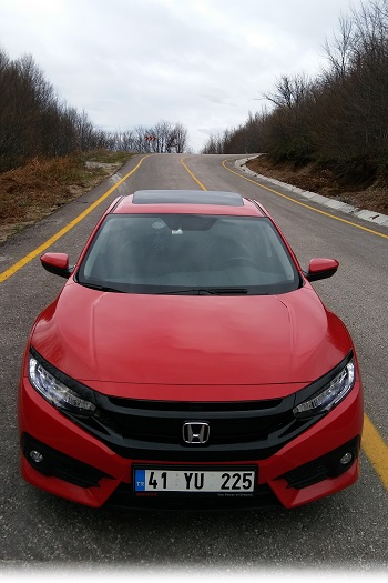 Honda Civic RS Test 2017
