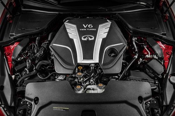 INFINITI VR Serisi V6 motor