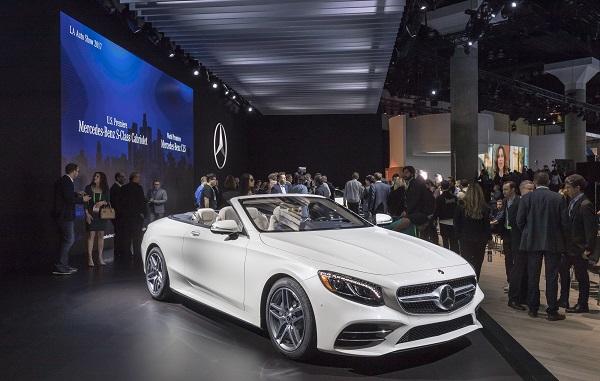 Mercedes Benz LA Auto Show 2017