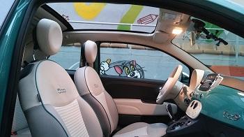 Fiat 500C_Anniversario Test 2018