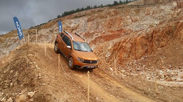 Dacia Duster OffRoad Alanı