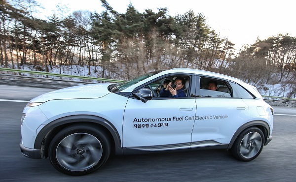 Hyundai NEXO Autonomous Fuel Cell Electric Vehicle