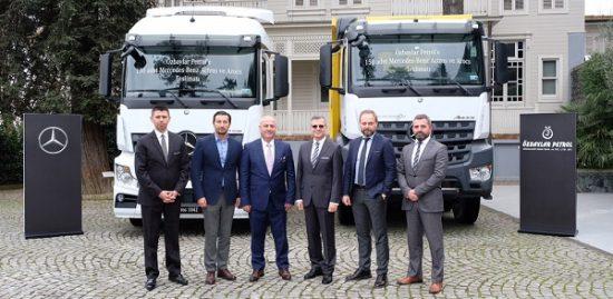 Mercedes-Benz Türk'ten Özbaylar Petrol'e 150 Adetlik Kamyon Teslimatı