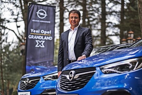 Opel Grandland X_Opel Turkiye Genel Muduru Ozcan Keklik