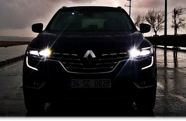 Renault Koleos Test_Koleos Test_Renault LED