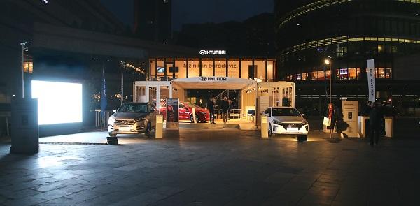 Hyundai Pop-Up Showroom