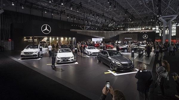 Mercedes-Benz Cars auf der New York International Auto Show 2018