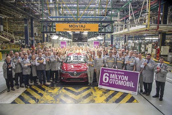 Oyak_Renault_6_milyonuncu_otomobil